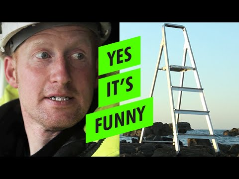 Yes it's Ladders (Yes It's Funny) - YouTube