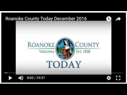 Roanoke County Today December 2016