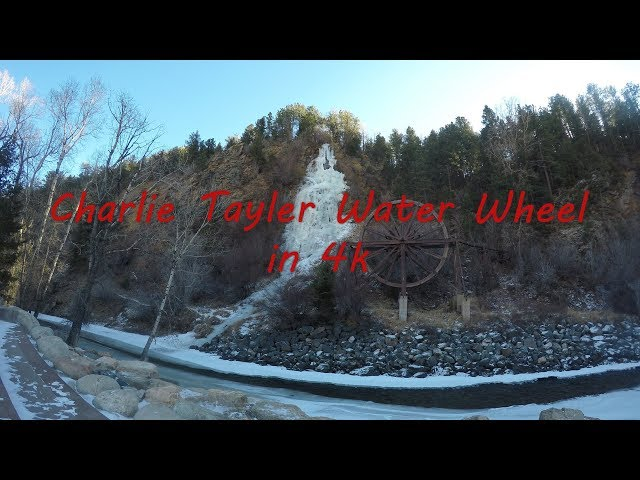 4K Waterfall - Charlie Tayler Water Wheel