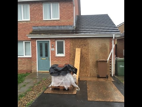 GARAGE CONVERSION INSTALLATION IN CAERPHILLY DONE TO THE LATEST COUNCIL BUILDING REGULATIONS