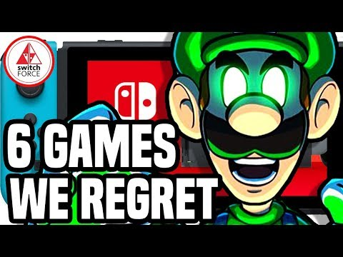 6 Switch Games We Regret Buying! (2018 Edition)