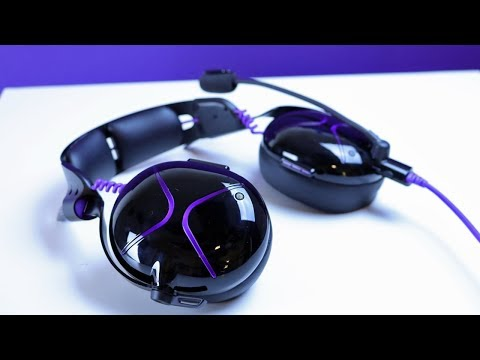 Victrix PRO AF Active Noise Cancelling Gaming Headset Review And Mic Test