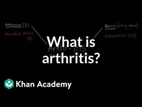 What is arthritis? | Muscular-skeletal diseases | NCLEX-RN | Khan Academy