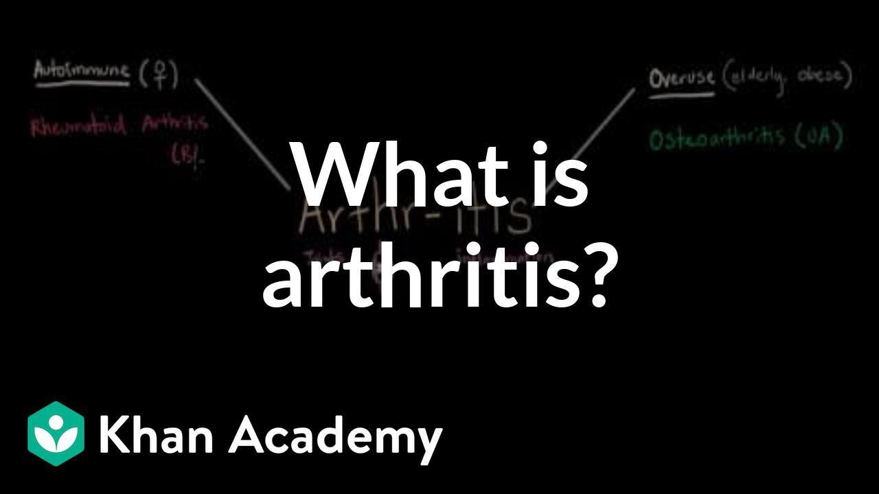 Arthritis Info Video