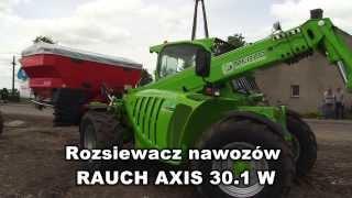 21  Rozsiewacz nawozów RAUCH AXIS 30 1 W