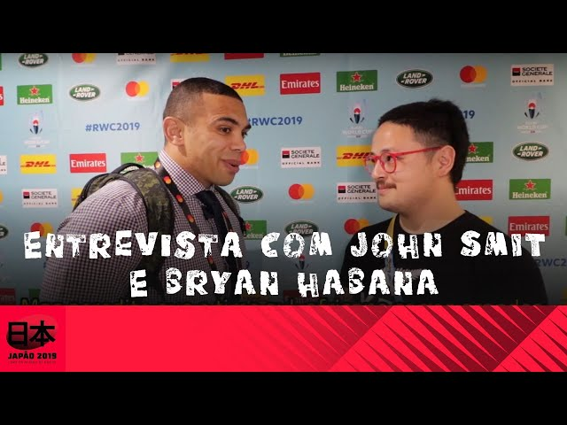 Entrevista John Smit e Bryan Habana ex-Springboks