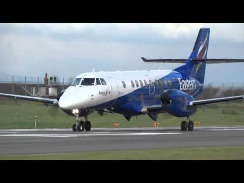 Eastern Airlines Bae Jetstream G-MAJD Warton Take-off