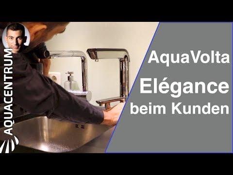 AquaVolta® Elégance   Installation on site in the kitchen of Brückner Architects, Munich