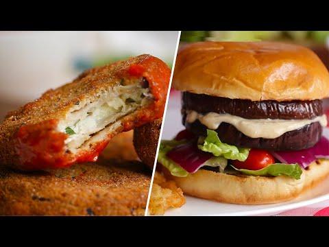 Eggplant Dinners 4 Ways