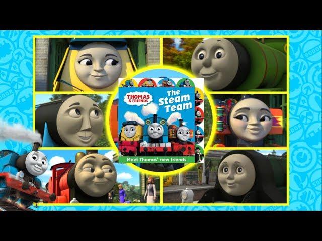 The Steam Team Book | Meet Thomas' New Friends!