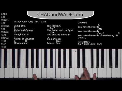 You Have the Words - How to Play on the Piano - Chad and Wade