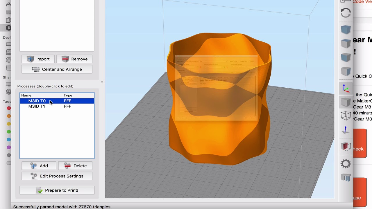 Dual-Color Printing with Simplify3D – MakerGear