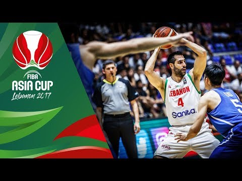 HIGHLIGHTS: Lebanon vs. Chinese Taipei (VIDEO) FIBA Asia Cup 2017