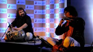 Milind Date & Pt. Vijay Ghate with Charudatta Phadke & Leo Mathew .AVI