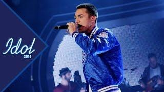 Liam Cacatian Thomassen sjunger Ingen annan rör mig som du i Idol 2016 - Idol Sverige (TV4)