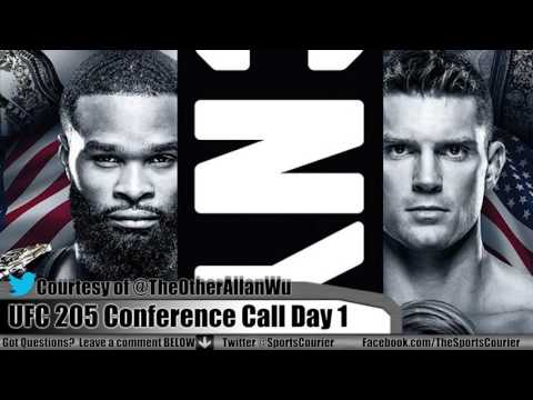 UFC 205: Woodley vs. Thompson, Jedrzejczyk vs. Kowalkiewicz Conference Call