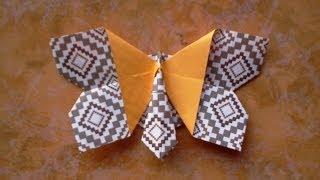 Cara Membuat Origami Kupu Kupu