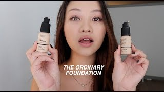 MY NEW FAV FOUNDATION!! The Ordinary $7 Colours Foundation Review