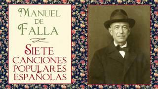 """Manuel de Falla: I. «El paño moruno» de """"Siete canciones populares españolas"""" (1914)"""