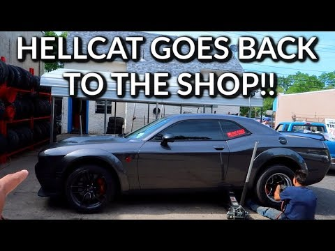 We Found The Problem On My Hellcat!