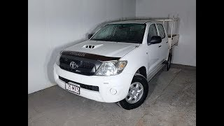 4×4 Turbo Diesel Dual Cab Ute Manual Toyota Hilux 2009 Review For Sale