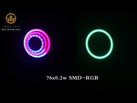 Download IMRELAX 2018 New RGBW 4in1 LED Crazy Beam Wash Moving Head Light 14/19 Channels Onion DMX