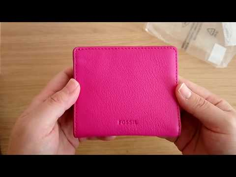 Fossil Emma Mini Wallet Unboxing
