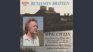 """Folk Song Arrangements, Vol. 3, """"British Isles"""": 6. O Waly, Waly"""