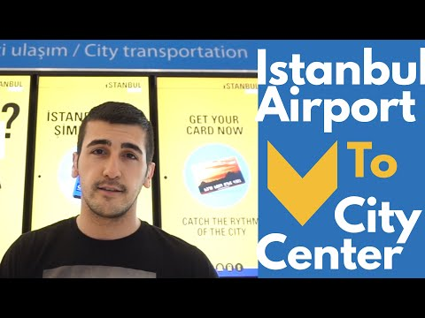 Istanbul Airport City Center Transportation