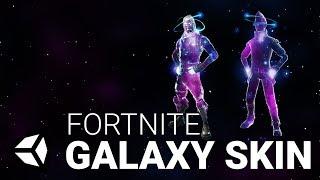Let's Recreate: Fortnite Galaxy Skin in Unity