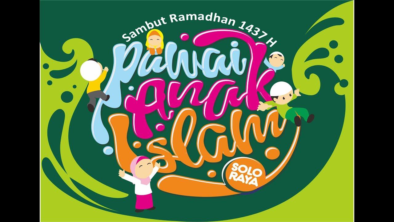 Pawai Anak Islam Solo Raya Sambut Ramadhan 1437 H YouTube