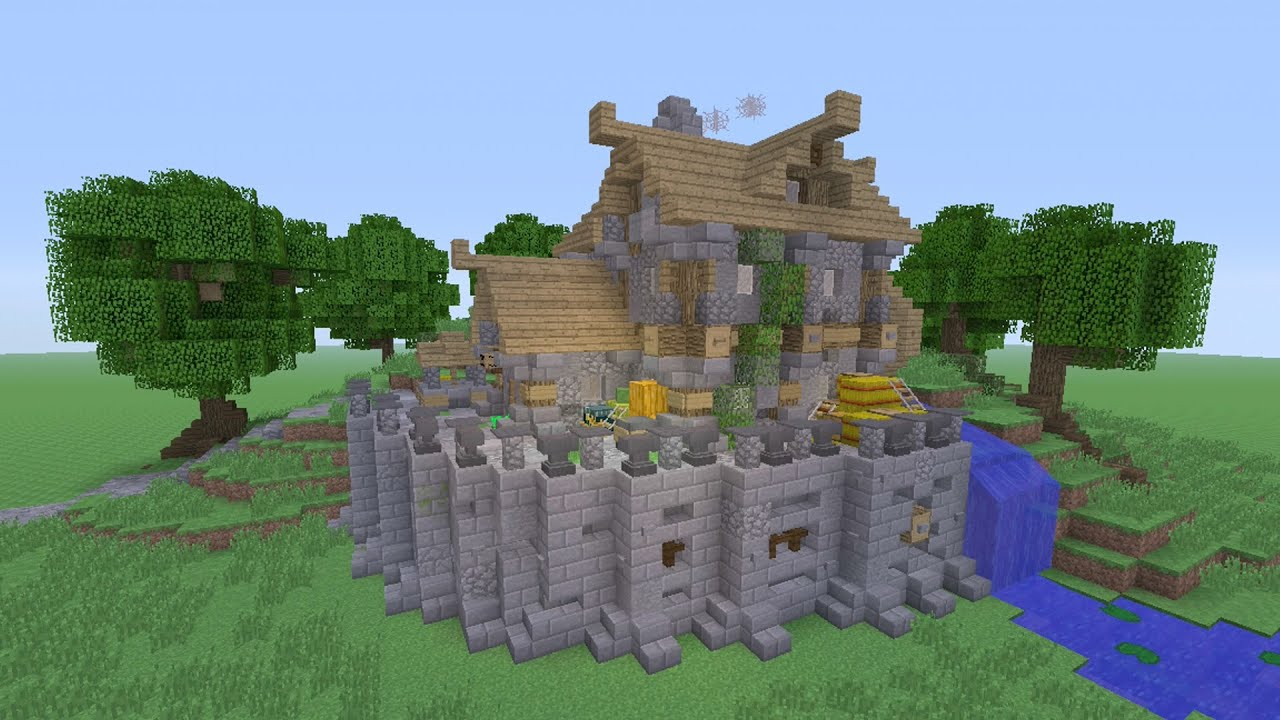 Minecraft - Awesome Meval!! Survival House