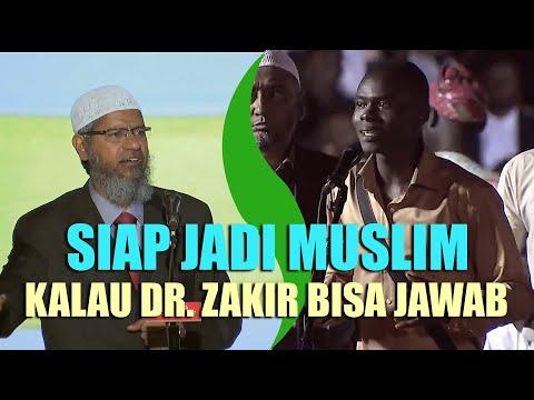 Pemuda Ini Siap Jadi Muslim Jika Dr. Zakir Naik Bisa Menjawab Ini