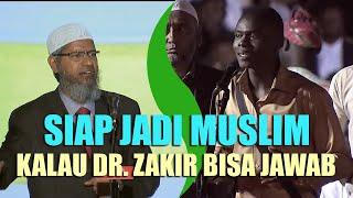 Pemuda Ini Siap Jadi Muslim Jika Dr. Zakir Naik Bisa Menjawab Ini MP3