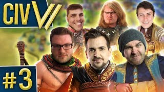 Civ VI: Isles of Catastrophe #3 - Fight, Fight, Fight!