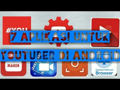 7 Aplikasi Untuk Youtubers Di Android