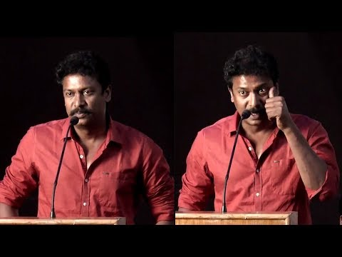 I did not write dialogues for Nimir - Samuthirakani   Nimir Audio Launch