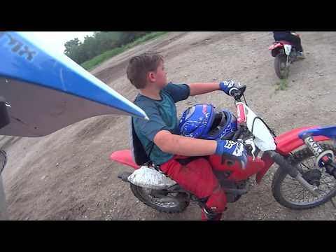 Dirt Biking Otter Creek ATV Park, Burlington KS - My video 08
