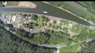 DRONE FLIGHT OVERVIEW, GOPRO FLIGHT, CAMPING DU PLAN INCLINE