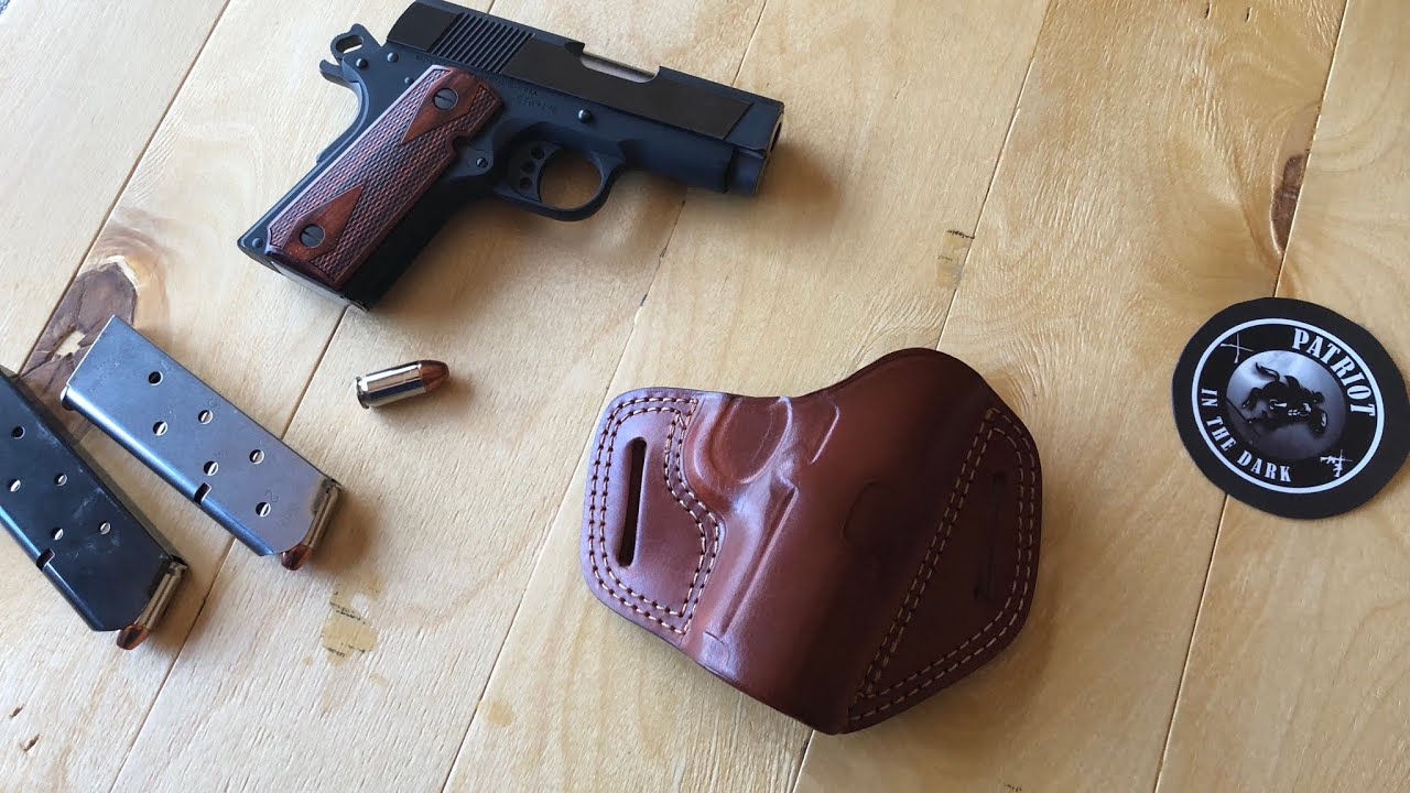 Craft Holsters - Custom Leather Open Top OWB -  Pt1 First Impressions PIDD