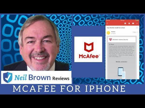 McAfee Review: IPhone Protection Tutorial