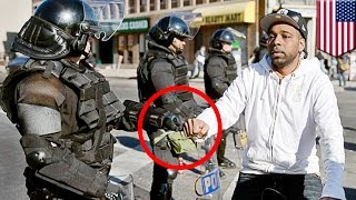 Baltimore cops indicted for homicide of Freddie Gray, which sparked Baltimore riots - TomoNews