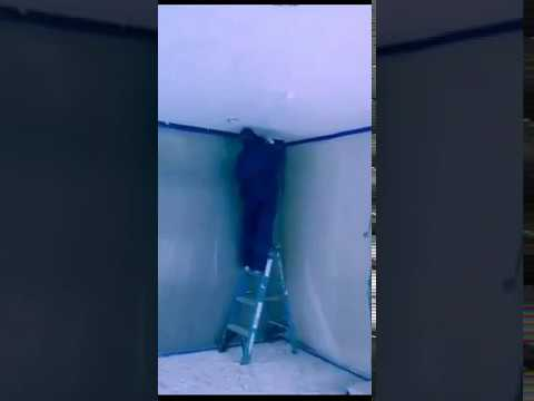 Asbestos Removal of popcorn ceiling