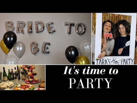 How to throw an awesome hen party 🎉  bachelorette party