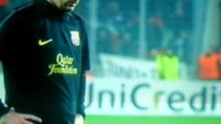 viktoria plzen vs barcelona messi goal