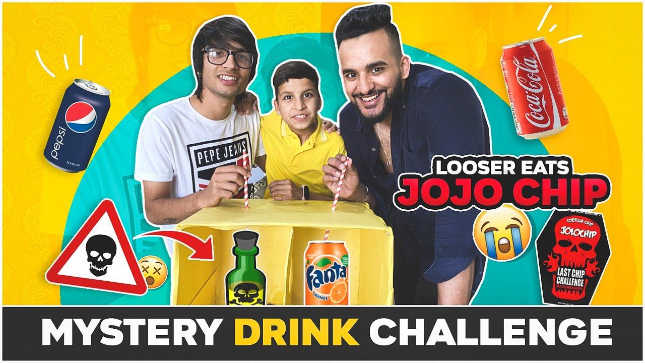 Download MYSTERY DRINK CHALLENGE VS @Sourav Joshi Vlogs !!
