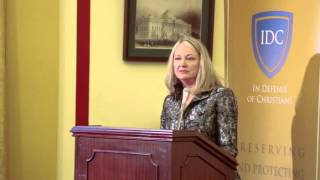 Nina Shea of the Hudson Institute Speaks at IDC Press Conference on Christian Genocide
