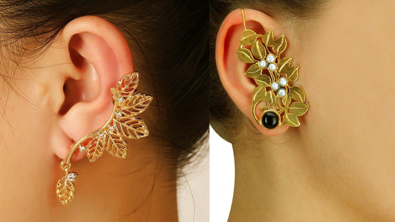 Gold Ear Cuffs Designs Best 15