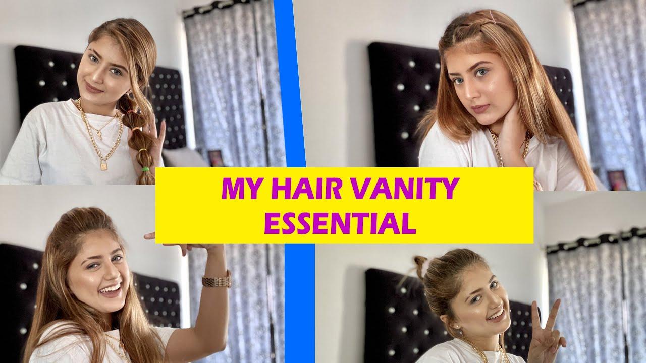My Hair Vanity Essential | Arishfa Khan