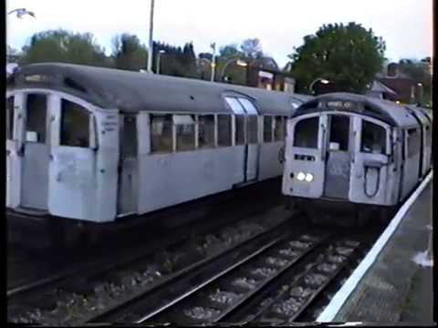 London Underground-Central Line Epping, Ongar & Loughton 1994
